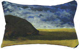 Prairie Grouper Pillow
